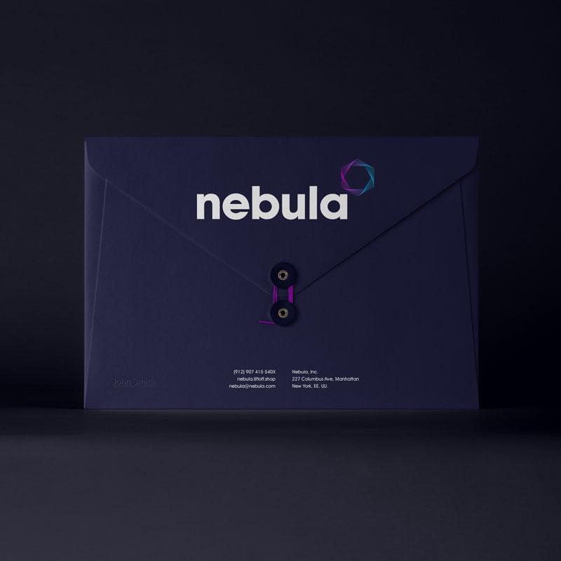 Nebula Presentation Envelope