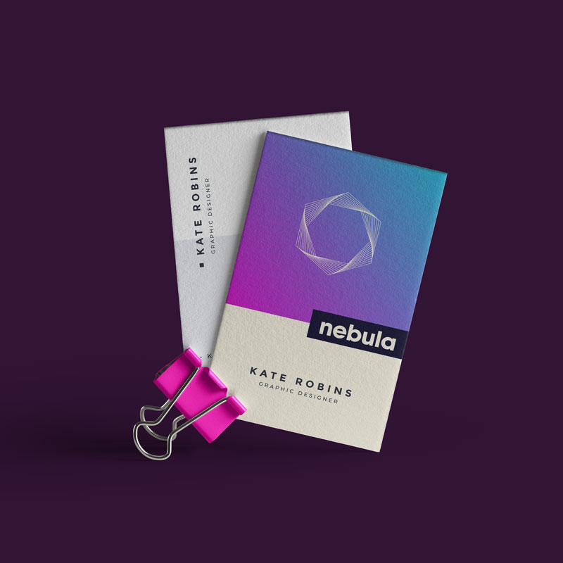 Nebula Business Cards