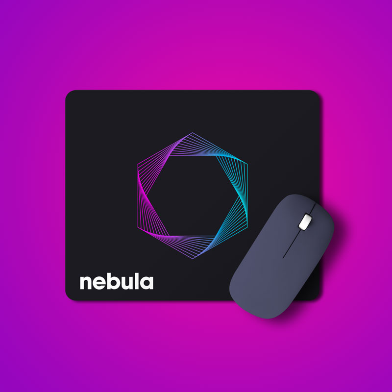 Nebula Microfiber Mousepad
