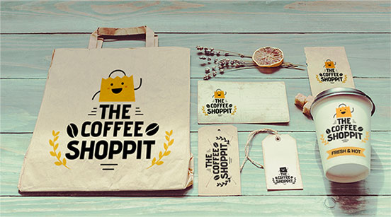Spread of products being sold on Liftoff including coffee, coffee accessories, and table items
