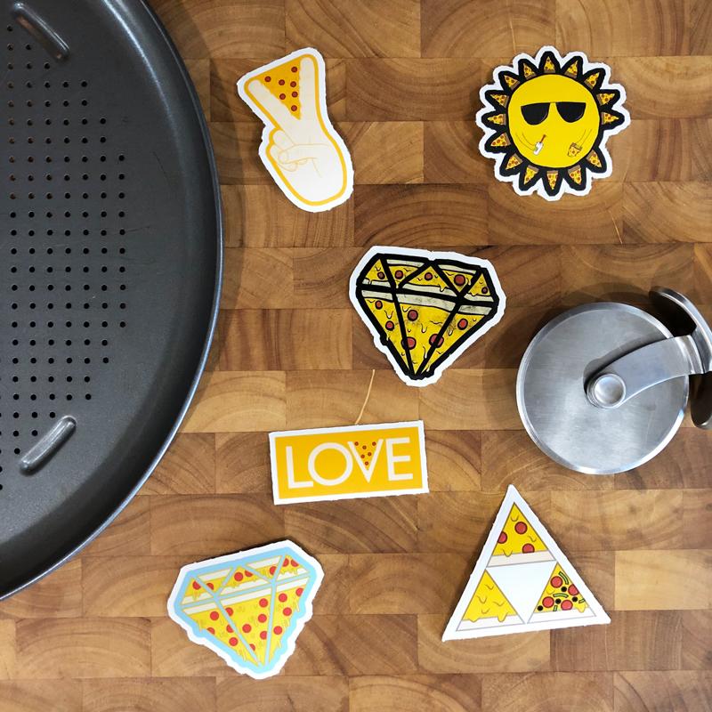 Pizza Sticker Pack
