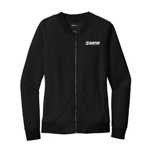 Sport-Tek Ladies Lightweight French Terry Bomber
