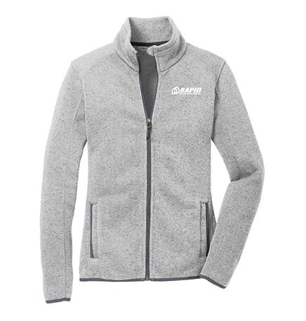 Port Authority Ladies Sweater Fleece Jacket -