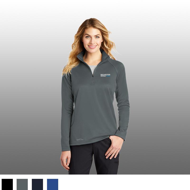 Eddie Bauer® Ladies Smooth Fleece Base Layer 1/2-Zip