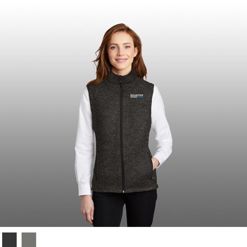 Port Authority ® Ladies Sweater Fleece Vest
