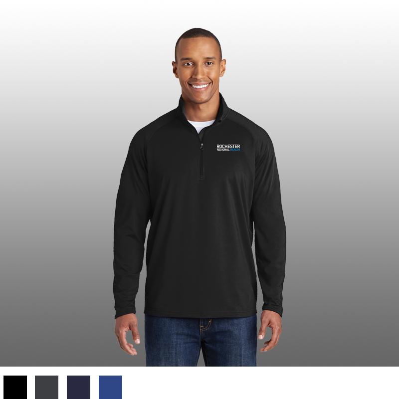 Sport-Tek® Sport-Wick® Stretch 1/2-Zip Pullover