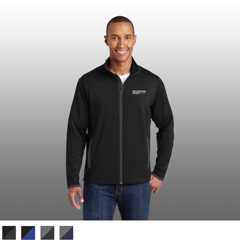Sport-Tek Sport-Wick Contrast Full-Zip Jacket