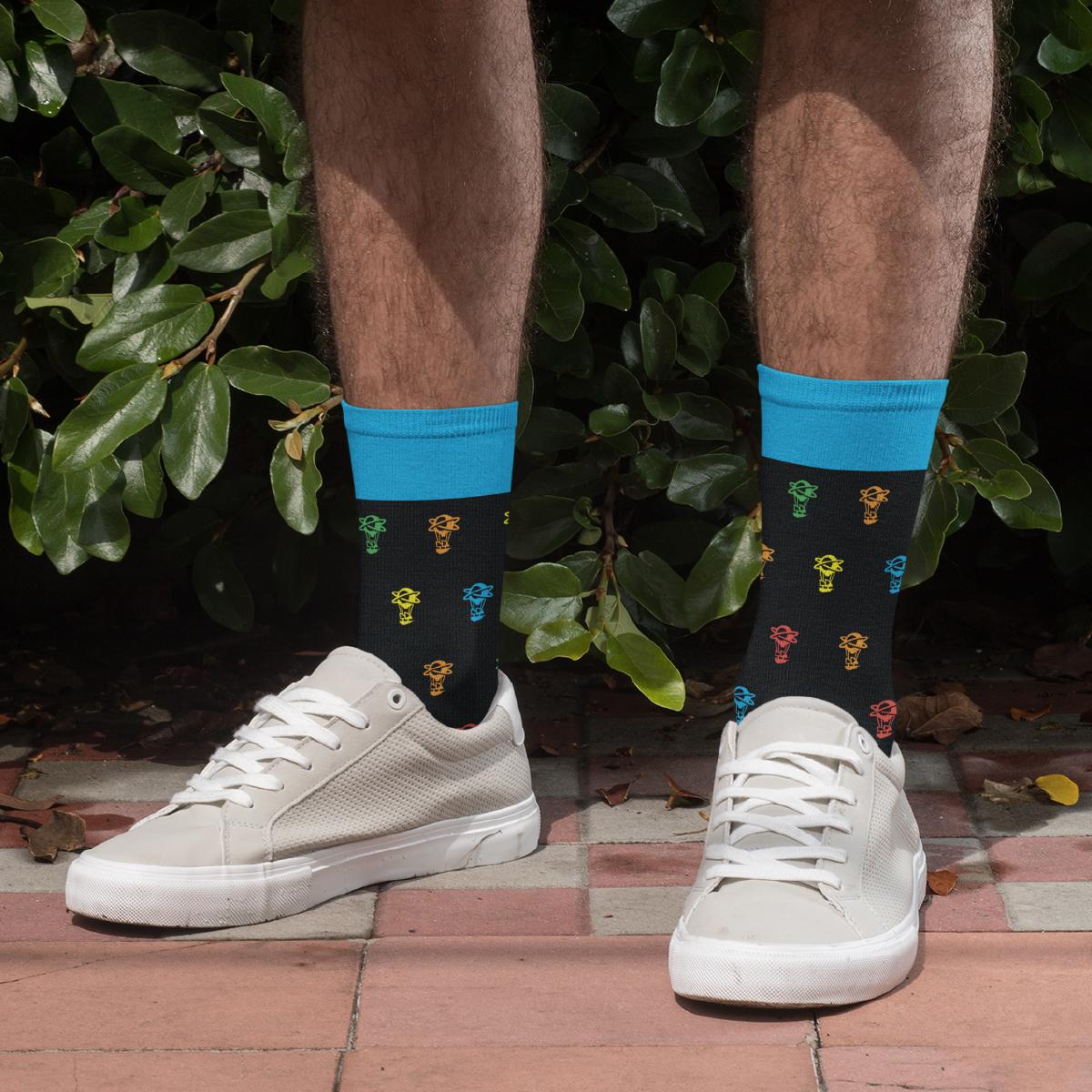 - Jacquard Airship Socks