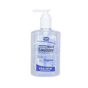 Hand Sanitizer - 8 oz. Pump CT/12
