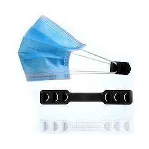 Face Mask Ear Savers (Black) (PK/100)