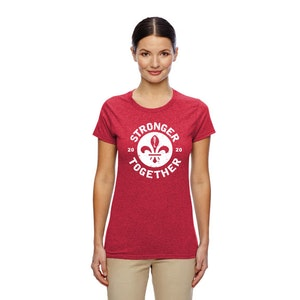 Ladies Short Sleeve Stronger Together T-Shirt