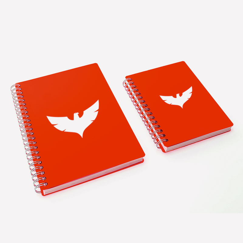 Vanguard Notebooks - Red