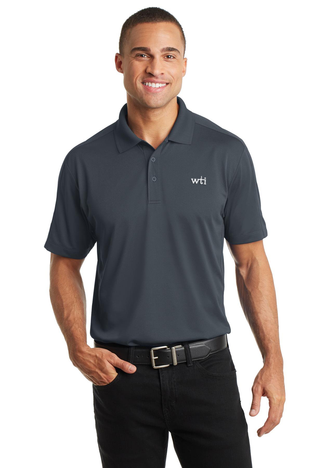 PA Diamond Jacquard Polo. K569. Prices Starting At $23!
