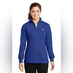 ST Ladies 1/4-Zip Sweatshirt. LST253. Prices Starting At $30!