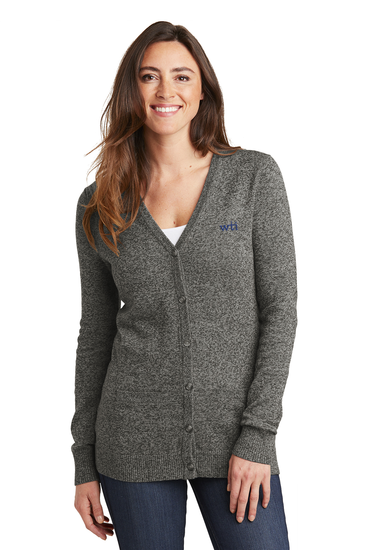 PA  Ladies Marled Cardigan Sweater. LSW415. Prices Starting At $43!