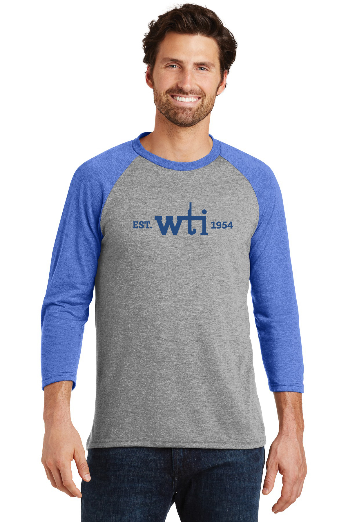 District  Perfect Tri 3/4-Sleeve Raglan. DM136 Prices Starting at $10!