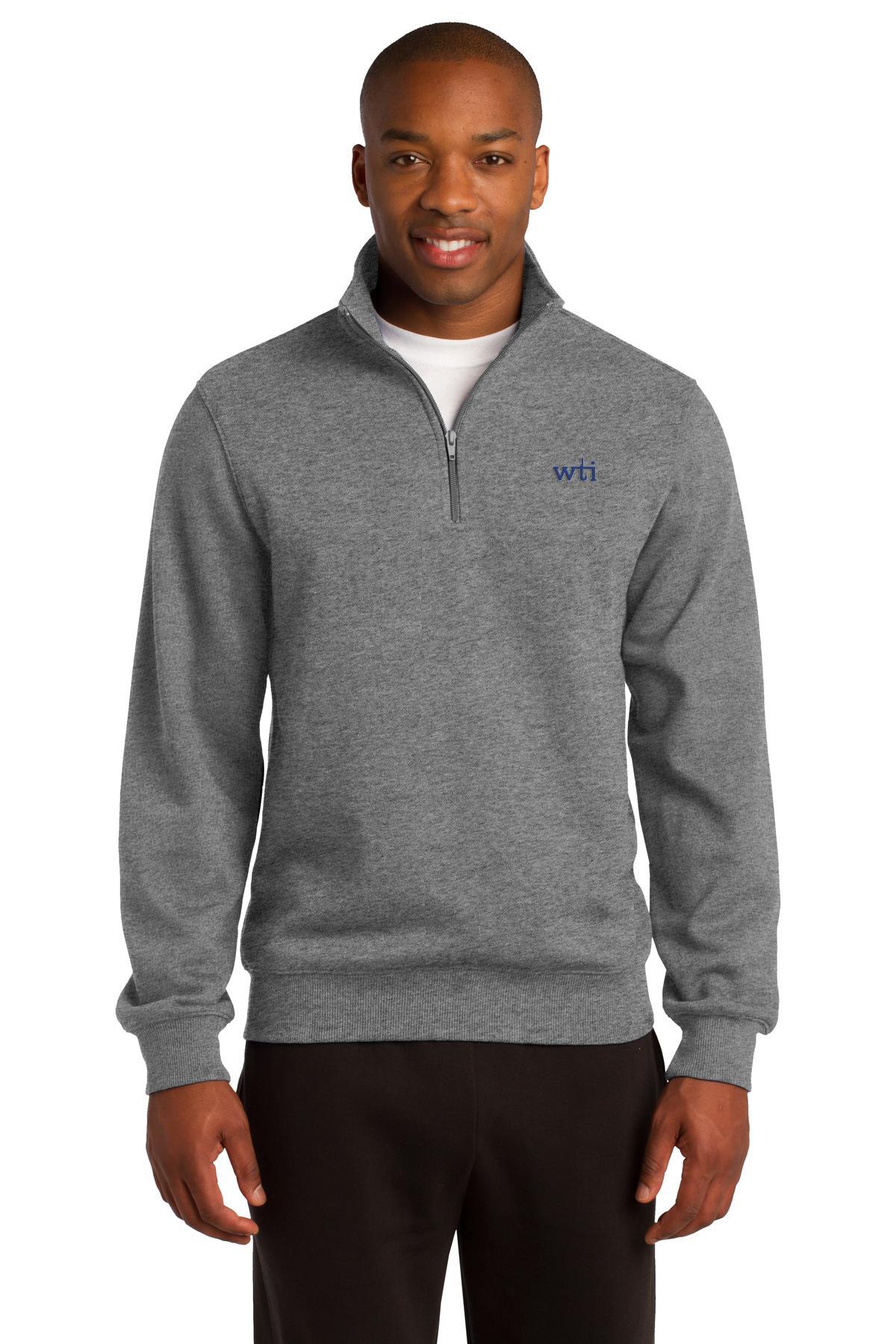 ST 1/4-Zip Sweatshirt. ST253. Prices Starting At $30!