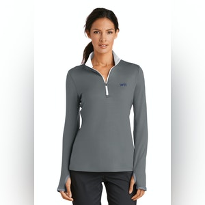 Nike Ladies Dri-FIT Stretch 1/2-Zip Cover-Up. 779796. Prices Starting At $69!
